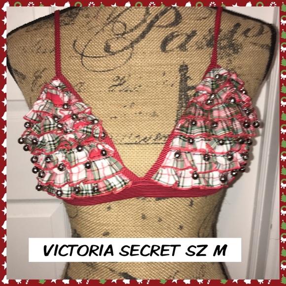 Victoria's Secret Jingle Bell Bra Holiday NWT